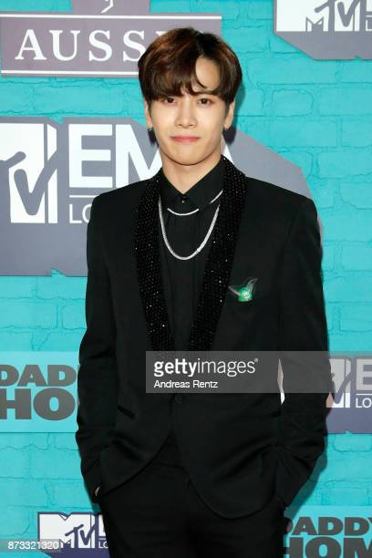 Jackson Wang attends the MTV EMAs 2017 held at The SSE Arena Wembley on November 12 2017 in London England