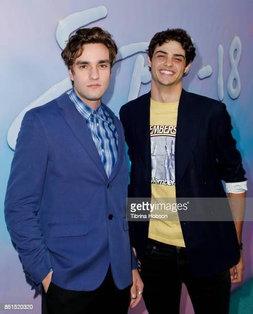 Jackson White and Noah Centineo attend the premiere of 'SPF18' at University High School on September 21 2017 in Los Angeles California