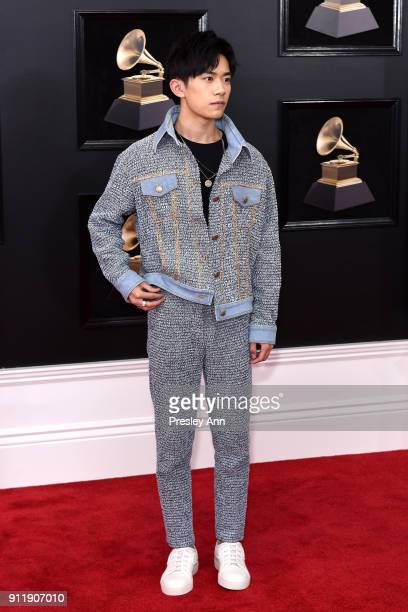 Jackson Y attends the 60th Annual GRAMMY Awards Arrivals at Madison Square Garden on January 28 2018 in New York City
