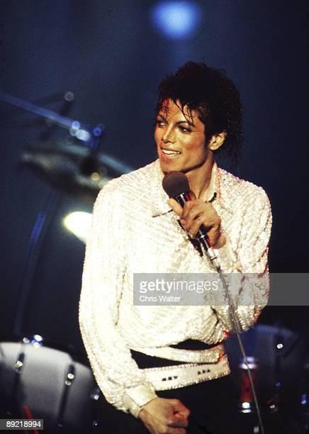 Jacksons 1984 Michael Jackson at Dodger Stadium