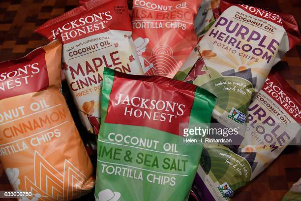 Jackson's Honest chips now have a wide assortment of flavors including Lime Sea Salt tortilla chips and Maple and Cinnamon sweet potato chips on...