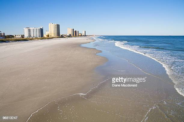 jacksonville beach, florida - jacksonville beach stock pictures, royalty-free photos & images