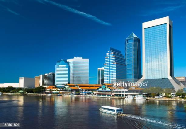 Vue sur le front de mer du centre-ville de Jacksonville
