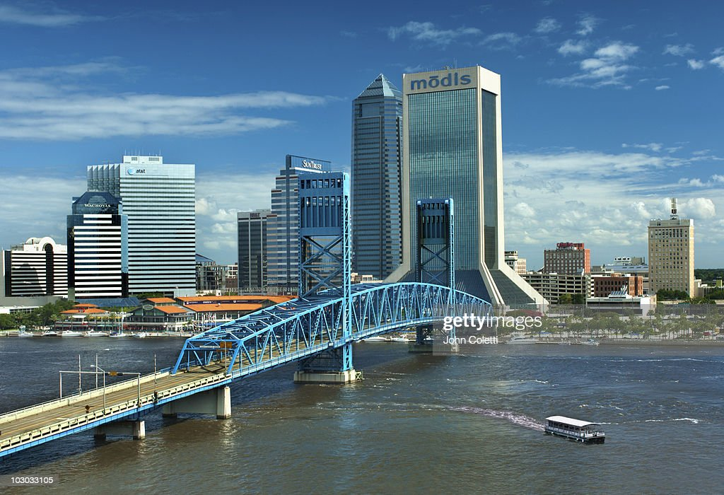 Aerial View of Jacksonville, Florida Stock Photo ...  |Jacksonville Florida Photography
