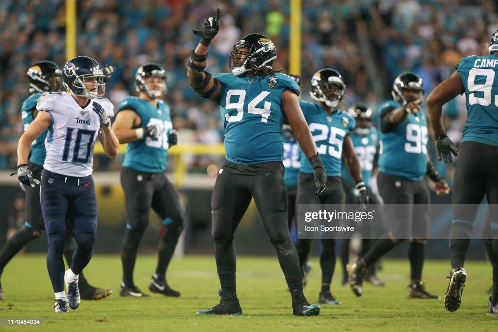 NFL: SEP 19 Titans at Jaguars : News Photo