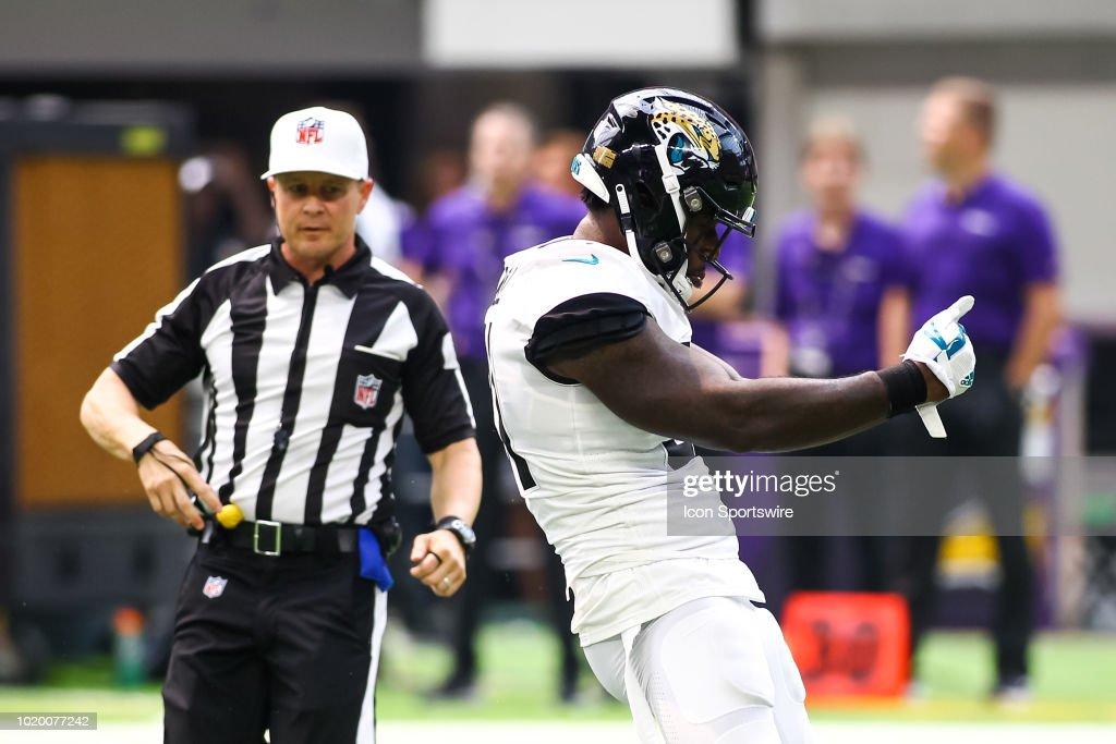 NFL: AUG 18 Preseason - Jaguars at Vikings : News Photo