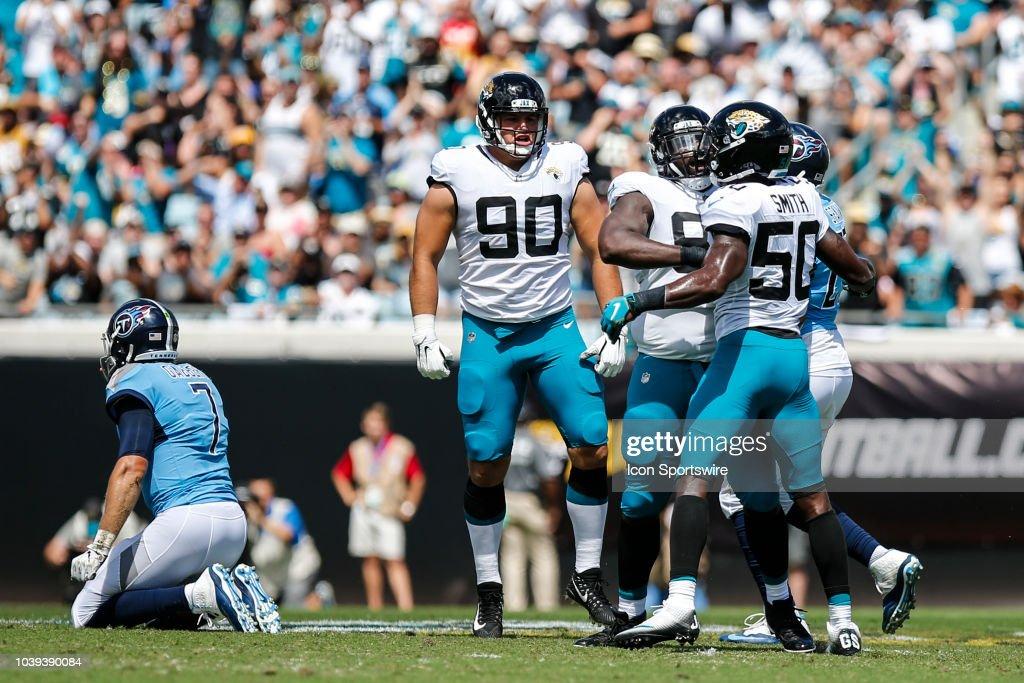 NFL: SEP 23 Titans At Jaguars : News Photo