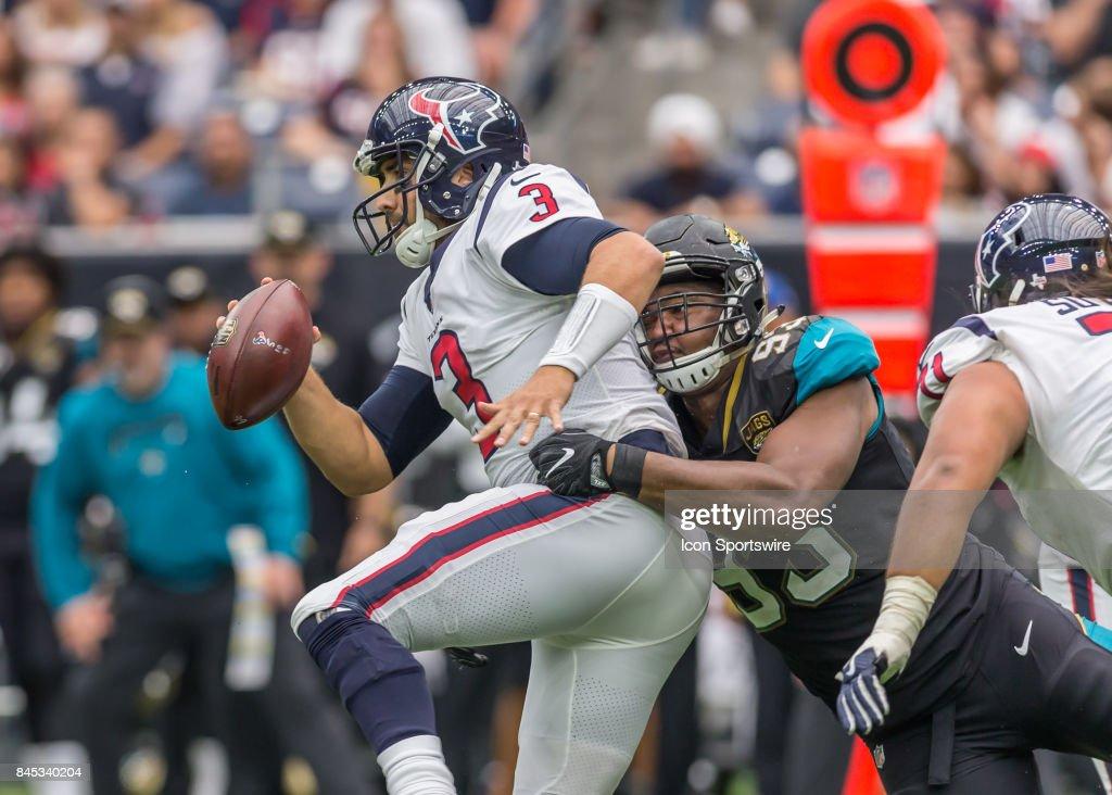 NFL: SEP 10 Jaguars at Texans : News Photo