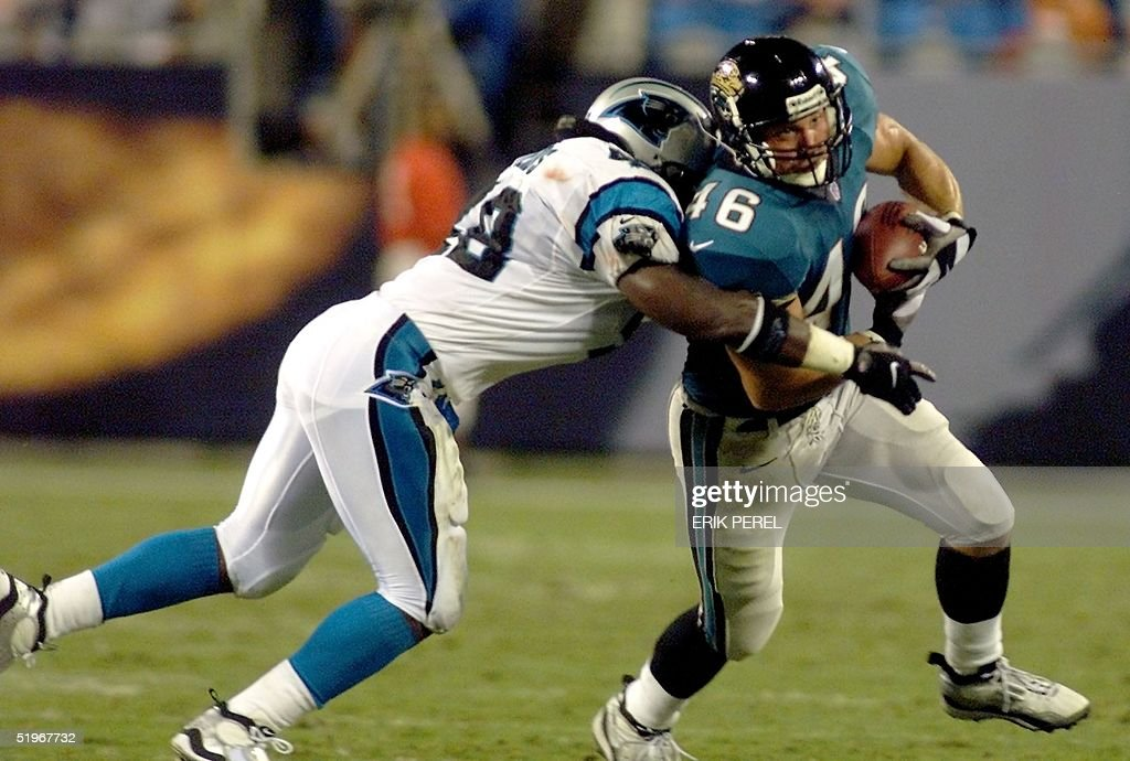 jacksonville jaguars jerry ross r tries to outru pictures getty