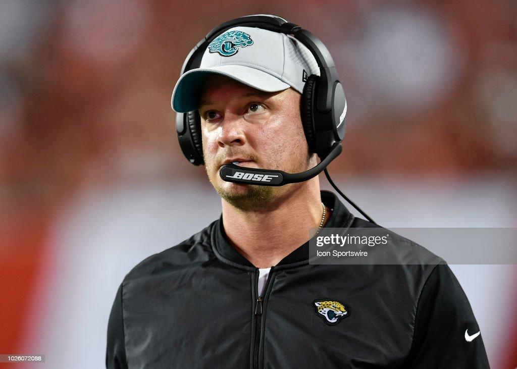 NFL: AUG 30 Preseason - Jaguars at Buccaneers : News Photo