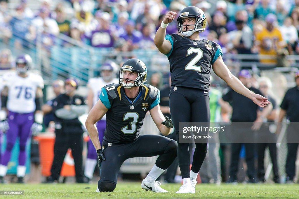 NFL: DEC 11 Vikings at Jaguars : News Photo