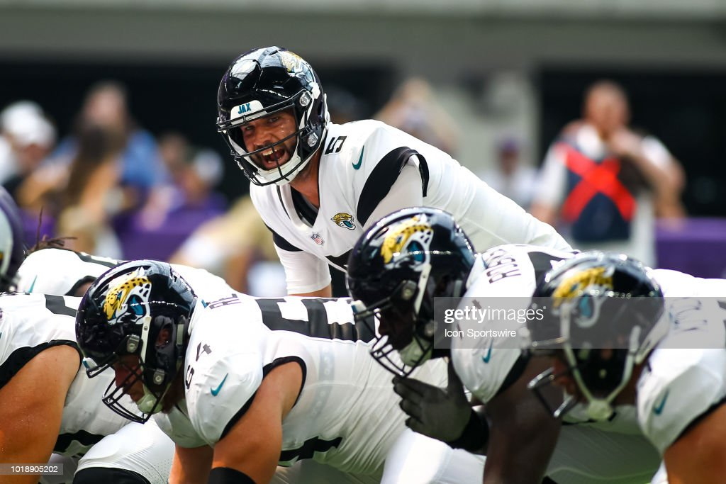 NFL: AUG 18 Preseason - Jaguars at Vikings : News Photo