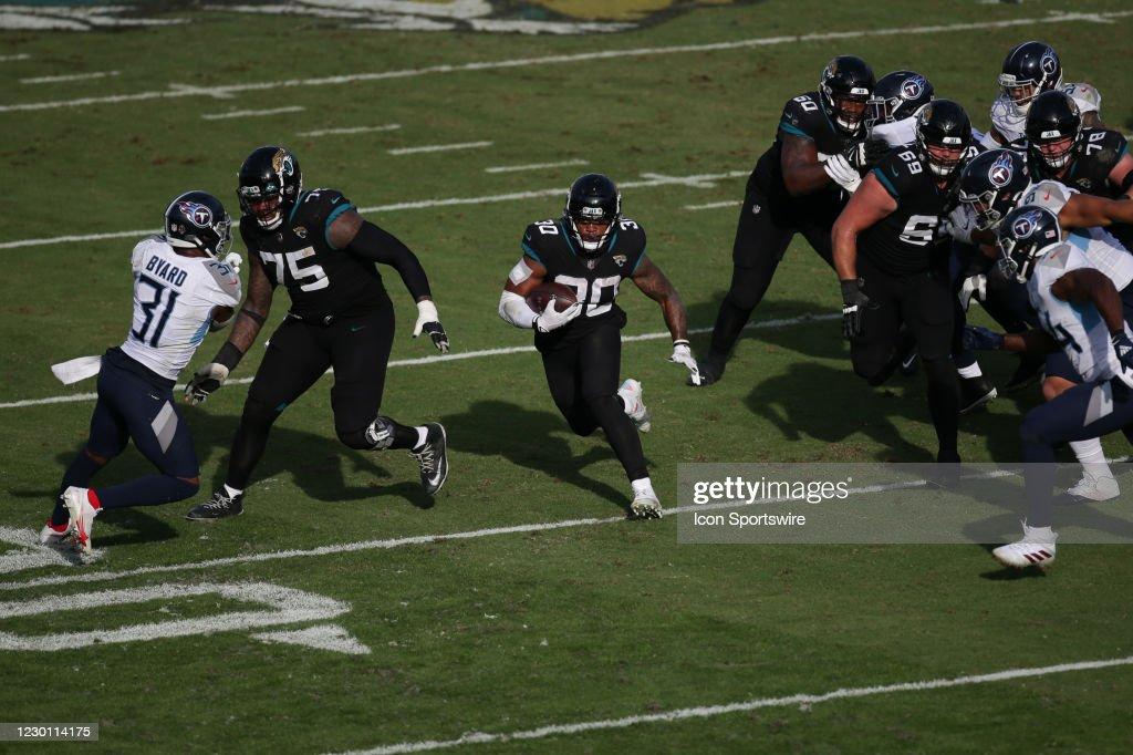 NFL: DEC 13 Titans at Jaguars : News Photo