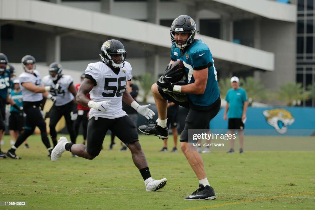 NFL: AUG 01 Jaguars Training Camp : News Photo