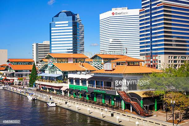 Jacksonville Landing Florida USA Downtown  Waterfront