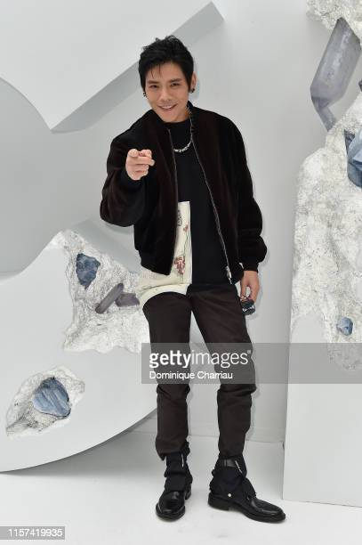 Jacky Heung attends the Dior Homme Menswear Spring Summer 2020 show as part of Paris Fashion Week on June 21 2019 in Paris France