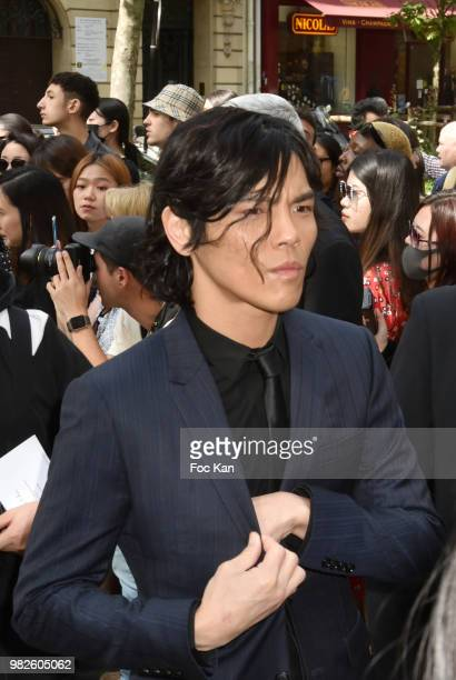 Jacky Heung attends the Dior Homme Menswear Spring/Summer 2019 show as part of Paris Fashion Week on June 23 2018 in Paris France
