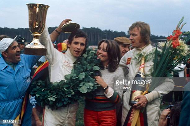 Jacky Ickx and Ronnie Peterson podium