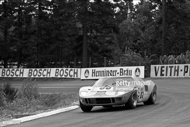 Jacky Ickx Ferrari 312 Grand Prix of Germany Nurburgring 04 August 1968