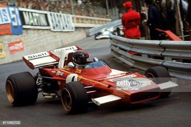Jacky Ickx Ferrari 312B2 Grand Prix of Monaco Circuit de Monaco 23 May 1971