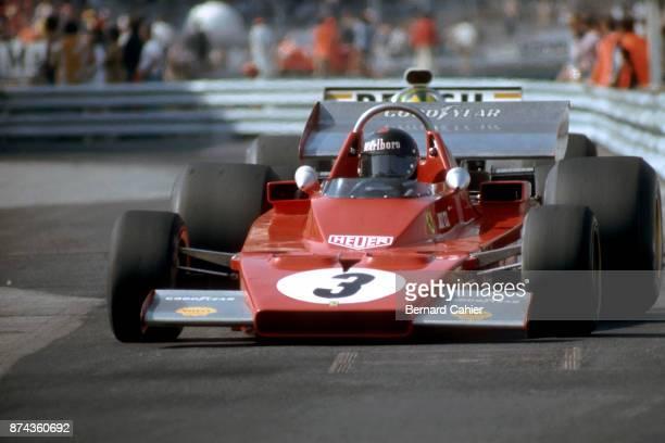 Jacky Ickx Ferrari 312B3 Grand Prix of Monaco Circuit de Monaco 03 June 1973