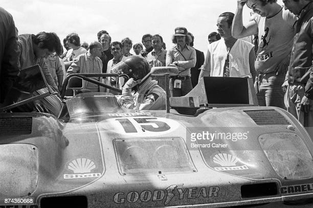 Jacky Ickx Ferrari 312PB 24 Hours of Le Mans Le Mans 06 October 1973