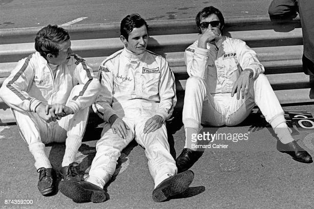 Jacky Ickx, Jackie Stewart, Piers Courage, Grand Prix of Italy, Autodromo Nazionale Monza, 08 September 1968.