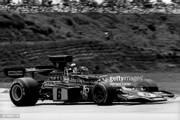 Jacky Ickx LotusFord 72E Grand Prix of Brazil Interlagos 26 January 1975
