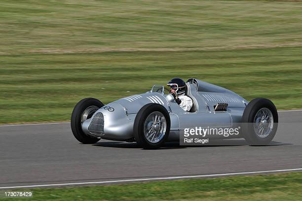 CONTENT] Jacky Ickx on a 1939 historic classic Auto Union Typ D Doppelkompressor at the Goodwood Revival 2012 racing