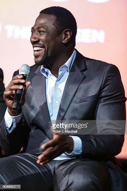 Jacky Ido attends aTVfest on February 6 2016 in Atlanta Georgia