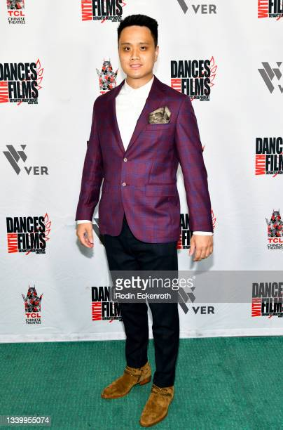 """Jacky Song attends the Closing Night of Dances with Film Festival with premiere of """"Mister Sister"""" at TCL Chinese Theatre on September 12, 2021 in..."""