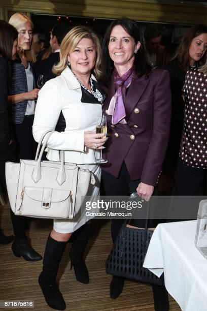 Jacky Teplitzky and Lisa Gilligan during the Bergdorf Goodman Celebrates Clarissa Bronfman Jewelry at Bergdorf Goodman on November 8 2017 in New York...