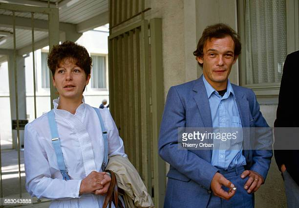 Jacky Villemin and his wife in Epinal France Jacky is the brother of JeanMarie Villemin who was sentenced for the murder of Bernard Laroche