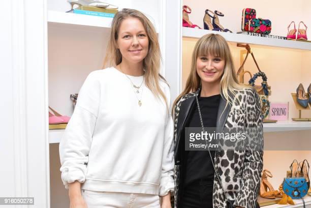 Jaclyn Bernie and Alessandra Brawn attend Sam Edelman NYFW: Fashion & Philanthropy on February 8, 2018 in New York City.