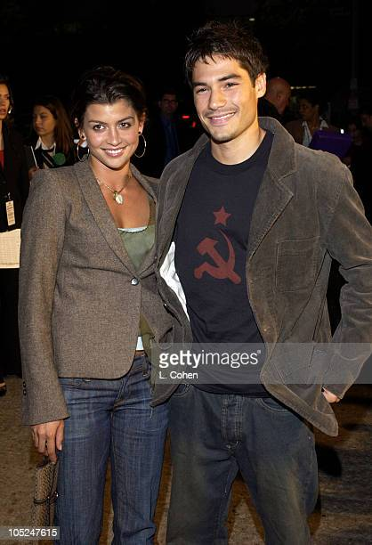 """Jaclyn DeSantis and DJ Cotrona during """"Veronica Guerin"""" - Los Angeles Premiere - Red Carpet at The Bruin Theater in Westwood, California, United..."""