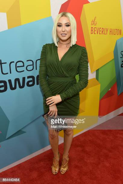 Jaclyn Hill at the 2017 Streamy Awards at The Beverly Hilton Hotel on September 26 2017 in Beverly Hills California