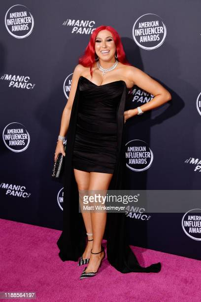 Jaclyn Hill attends the 2nd Annual American Influencer Awards at Dolby Theatre on November 18 2019 in Hollywood California