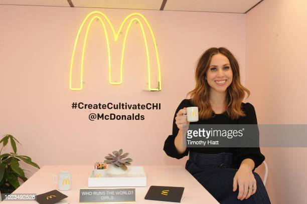 Jaclyn Johnson attends for Create Cultivate conference at the House of Vans with partners include Microsoft Teams JC Penney McDonalds and Comcast NBC...