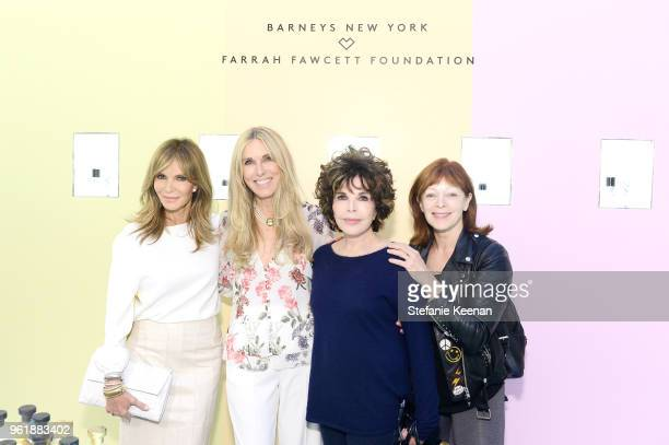 Jaclyn Smith Alana Stewart Carole Bayer Sager and Frances Fisher attend Barneys New York Celebrates the Farrah Fawcett Foundation at Barneys New York...