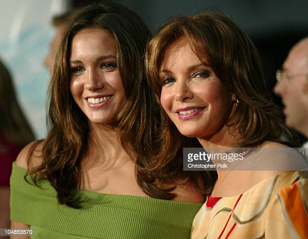 Jaclyn Smith and daughter during Premiere of Charlie's Angels Full Throttle at Grauman's Chinese Theatre in Hollywood California United States