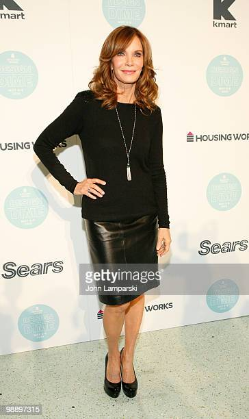 Jaclyn Smith attend the 6th Annual Housing Works Design on a Dime charity shopping event at the Metropolitan Pavilion on May 6 2010 in New York City
