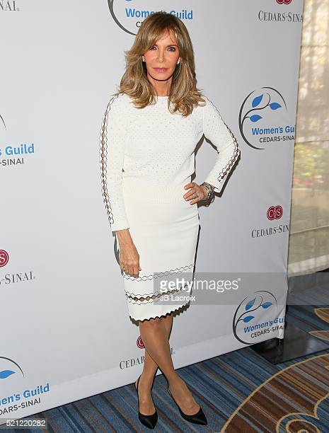 Jaclyn Smith attends the 2016 Women's Guild CedarsSinai Annual Spring Luncheon at the Beverly Wilshire Four Seasons Hotel on April 14 2016 in Beverly...