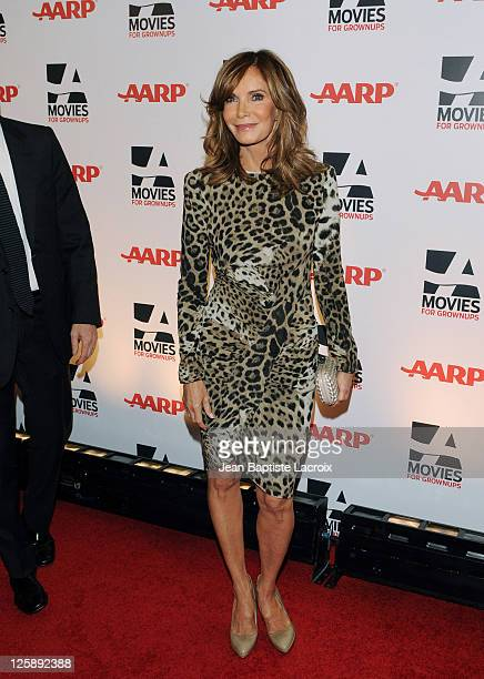 Jaclyn Smith attends the AARP The Magazine's 10th Annual Movies for Grownups Award Gala at The Beverly Hilton hotel on February 7 2011 in Beverly...