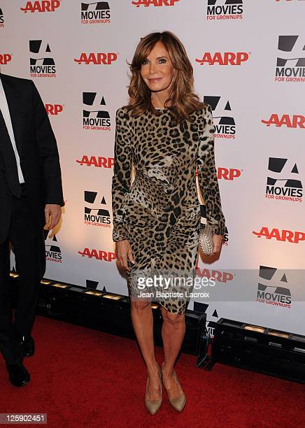Jaclyn Smith attends the AARP The Magazine's 10th Annual Movies for Grownups Award Gala at the Beverly Wilshire Four Seasons Hotel on February 7 2011...