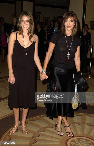 Jaclyn Smith daughter Spencer Margaret Richmond during The 9th Annual Race To Erase MS Dinner at Century Plaza in Century City California United...