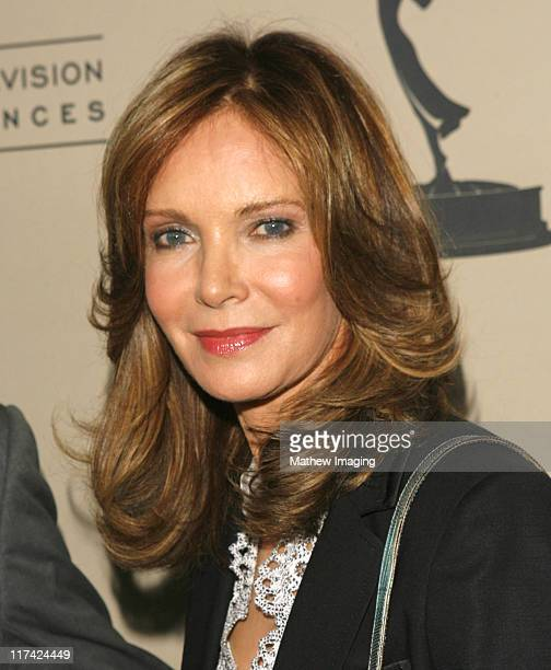 Jaclyn Smith during Academy of Television Arts Sciences Hall of Fame Ceremony Arrivals at Beverly Hills Hotel in Beverly Hills California United...