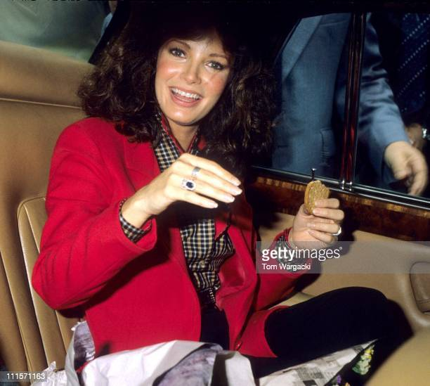Jaclyn Smith during Jaclyn Smith at Rackhams Department Store August 5 1981 in Birmingham Great Britain