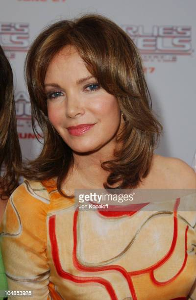 Jaclyn Smith during Premiere of Charlie's Angels Full Throttle at Grauman's Chinese Theatre in Hollywood California United States