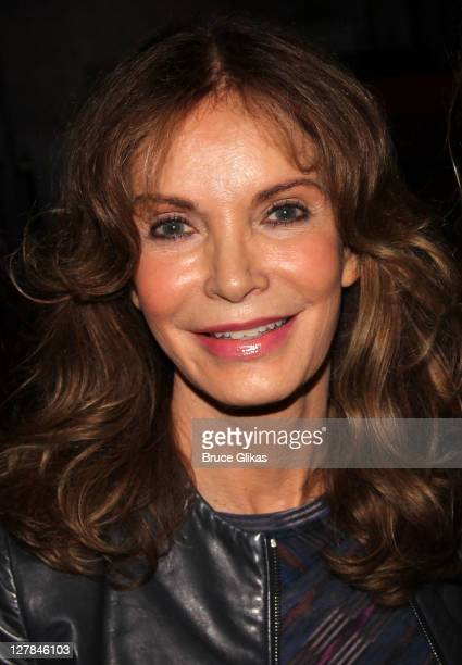 Jaclyn Smith poses backstage at the hit play Love Loss and What I Wore at The West Side Theater on October 1 2011 in New York City