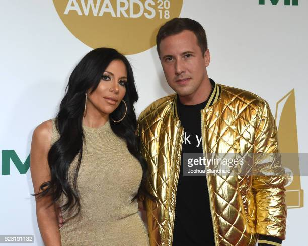 Jaclyn Taylor and Jessy Jones attend the 2018 XBIZ Awards on January 18 2018 in Los Angeles California